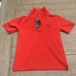 Underarmour Boys Golf Shirt - 12 months